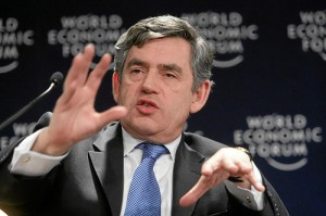 Gordon Brown leaving nothing to the imagination in the Pre-Budget Report
