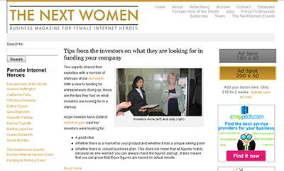 The Next Women - a publishing startup celebrating the female internet hero